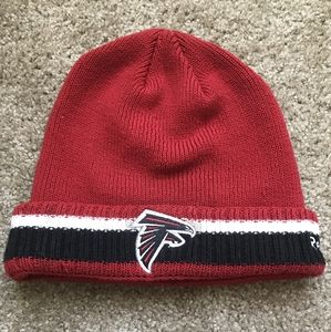 NFL Falcons Cap Reebok On Field